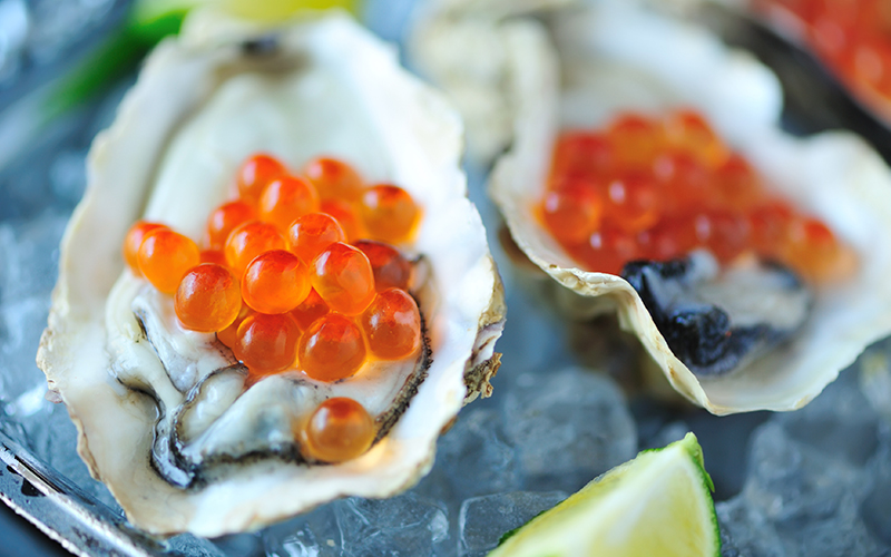 The oyster from l'Ampolla, seafood delight