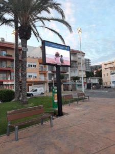 Activitats, festes, informació i molt més a nova pantalla de Plaça Gonzàlez Isla a l'Ampolla